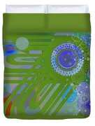 Art Deco Explosion 2 Duvet Cover