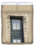 Art Deco Window Duvet Cover