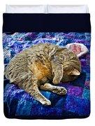 Cat Nap Duvet Cover