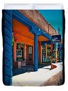 Art Gallery In Taos Duvet Cover