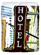 Art Hotel Duvet Cover