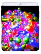 Art In Coalescence... Duvet Cover