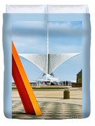 The Milwaukee Art Museum By Santiago Calatrava Duvet Cover