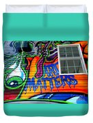 Art Matters Duvet Cover