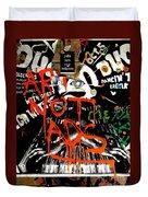 Art Not Ads Duvet Cover