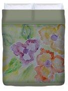 Art Of Watercolor Duvet Cover