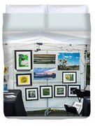 Art Tent Duvet Cover