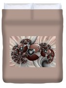 Art With Heart Duvet Cover