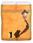 Artful Street Lamp Duvet Cover