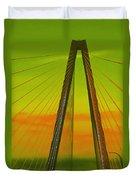 Arthur Ravenel Jr Bridge V Duvet Cover