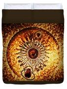 Artificial Galaxy Duvet Cover
