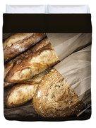 Artisan Bread Duvet Cover