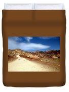Artist Pallet Death Valley Duvet Cover