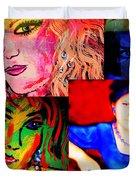 Artist Self Portrait Duvet Cover