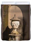 Artistic Fountain Duvet Cover