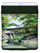 Artists Bridge September Duvet Cover