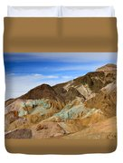 Artists Palette Death Valley National Park Duvet Cover