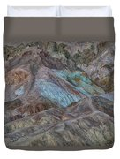 Artists Pallet Death Valley Ca Img 0448 Duvet Cover