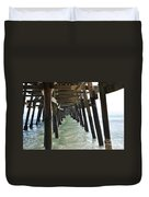 Long Walk Short Pier Duvet Cover