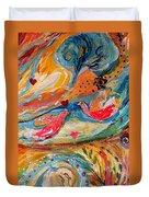 Artwork Fragment 24 Duvet Cover