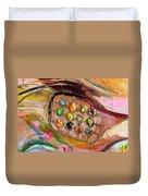 Artwork Fragment 43 Duvet Cover