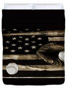 As American As Apple Pie Duvet Cover