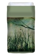 As Night Apaproaches  Duvet Cover