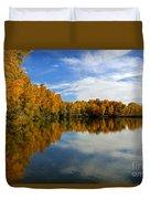As The Leaves Turn Duvet Cover