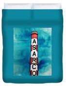 Asarco In Watercolor Duvet Cover