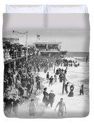 Asbury Park - New Jersey - 1908 Duvet Cover