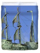 Asbury Park Nj Convention Hall Ship  Duvet Cover