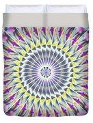 Ascending Eye Of Spirit Kaleidoscope Duvet Cover by Derek Gedney