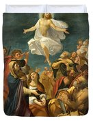 Ascension Of Christ Duvet Cover