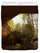 Ash Cave 2 Duvet Cover
