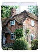 Ashers Farmhouse Five Bells Lane Nether Wallop Duvet Cover