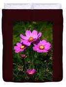 Asheville Wildflowers Duvet Cover