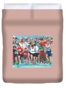 Ashland Half Marathon Duvet Cover