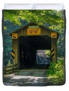 Ashtabula Collection - Olin's Covered Bridge 7k01978 Duvet Cover
