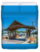 Ashtabula Collection - West Liberty Covered Bridge 7k02064 Duvet Cover