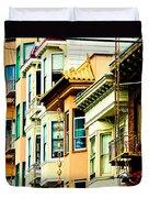 Asia Town Duvet Cover