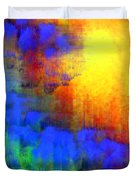 Asian Sunset Duvet Cover