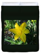 Asiatic Lily Duvet Cover