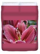 Asiatic Pink Duvet Cover