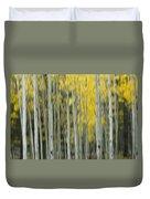Aspen Abstract  Duvet Cover