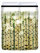 Aspen Colorado Abstract Square 3 Duvet Cover