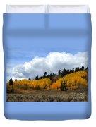 Aspen Hillside Duvet Cover