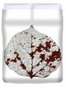 Aspen Leaf Skeleton 2 Duvet Cover
