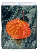 Aspen Leaf  Duvet Cover