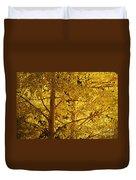 Aspen Leaves Textured Duvet Cover