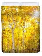 Aspen Morning Duvet Cover